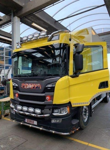 Scania LED Front sign and light box