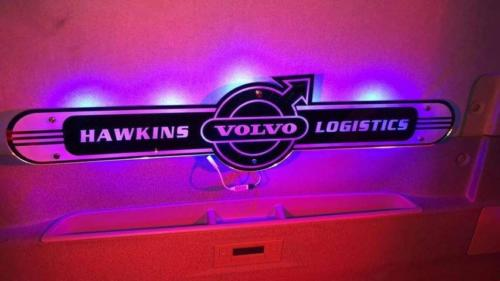 1000x250 mm LED Truck Mirror / Truck Lightboard