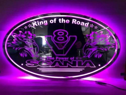 600x400 mm LED Truck Mirror / Truck Lightboard