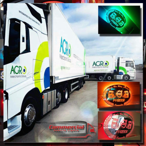 600x400 mm LED Truck Mirror / Truck Lightboard