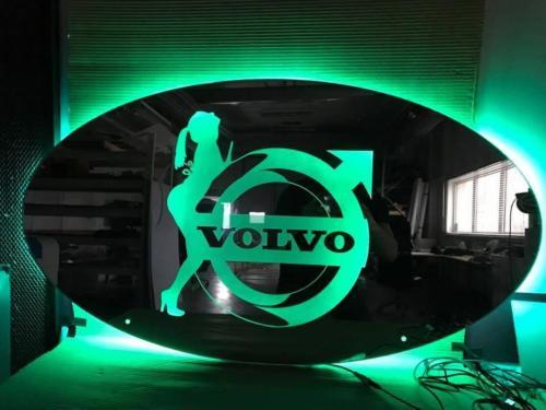 600x300 mm LED Truck Mirror / Truck Lightboard
